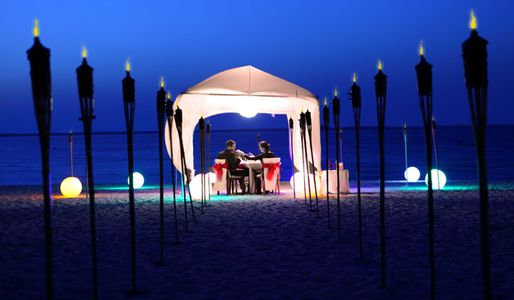 Re-invent romance with your other half on the beach