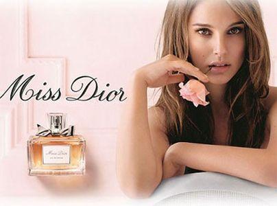 Natalie Portman, égérie du parfum Miss Dior