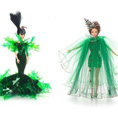 Barbie ® : Relookée de la tête aux pieds pour les fêtes de Noël (Photos)