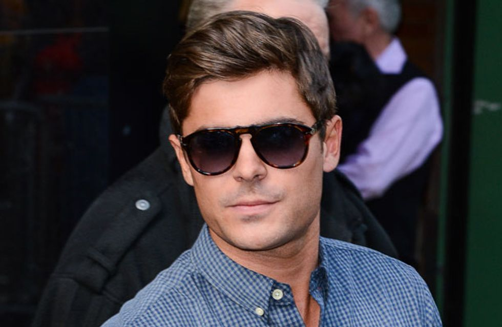 Zac Efron has had his mouth wired shut after breaking his jaw