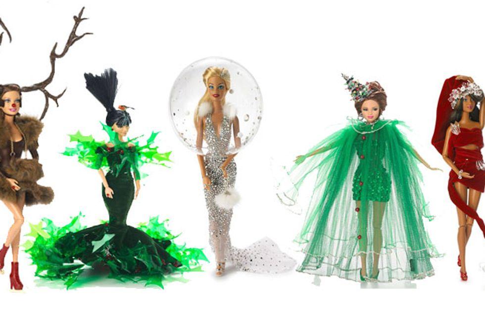 Barbie gets a Kate Middleton makeover for Christmas
