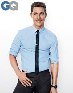 Matthew McConaughey : homme de l'année GQ