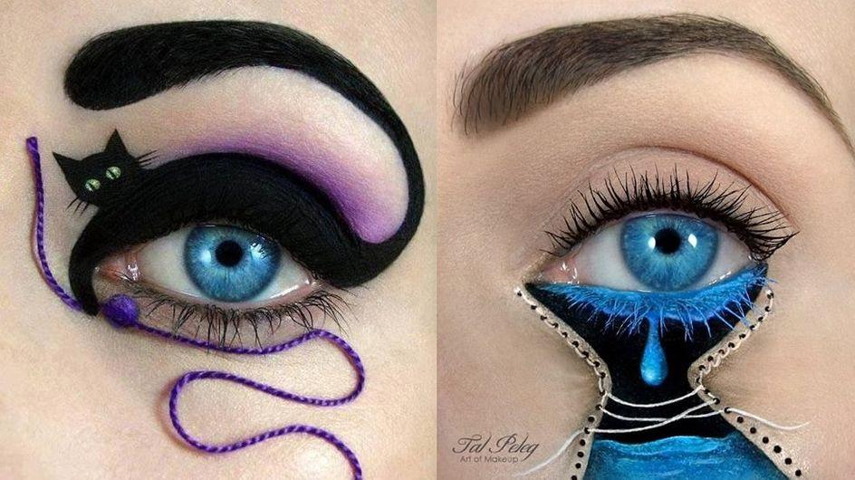 Eye Art : Après le Nail Art, voici la nouvelle tendance beauté (Photos)