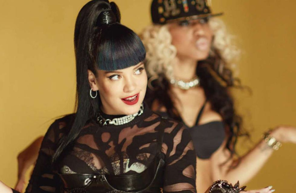 WATCH: Lily Allen's shocking video for Hard Out Here