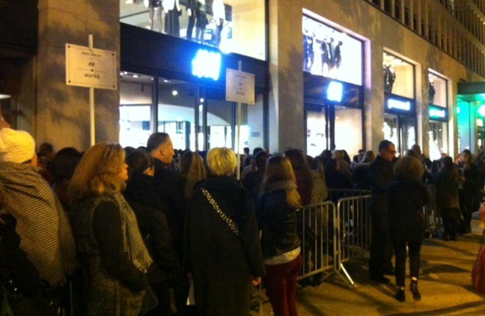 Isabel Marant pour H&M : Revivez en direct la soirée de lancement sur les Champs Elysées !