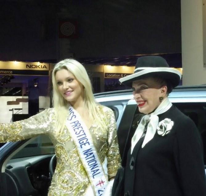 Geneviève de Fontenay et Christelle Roca Miss Prestige 2012