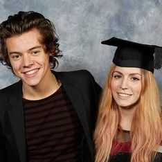 Harry Styles attends his big sister's university graduation