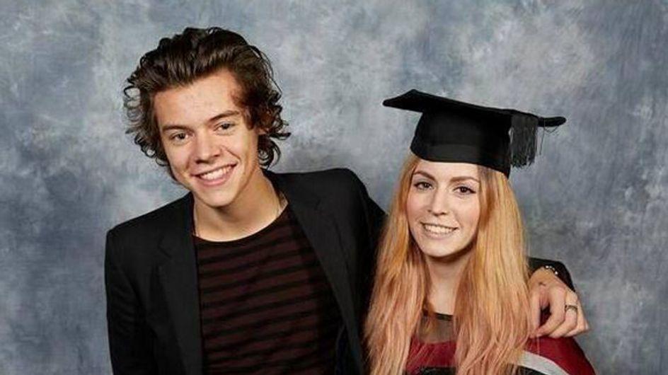 Harry Styles attends his big sister's university graduation