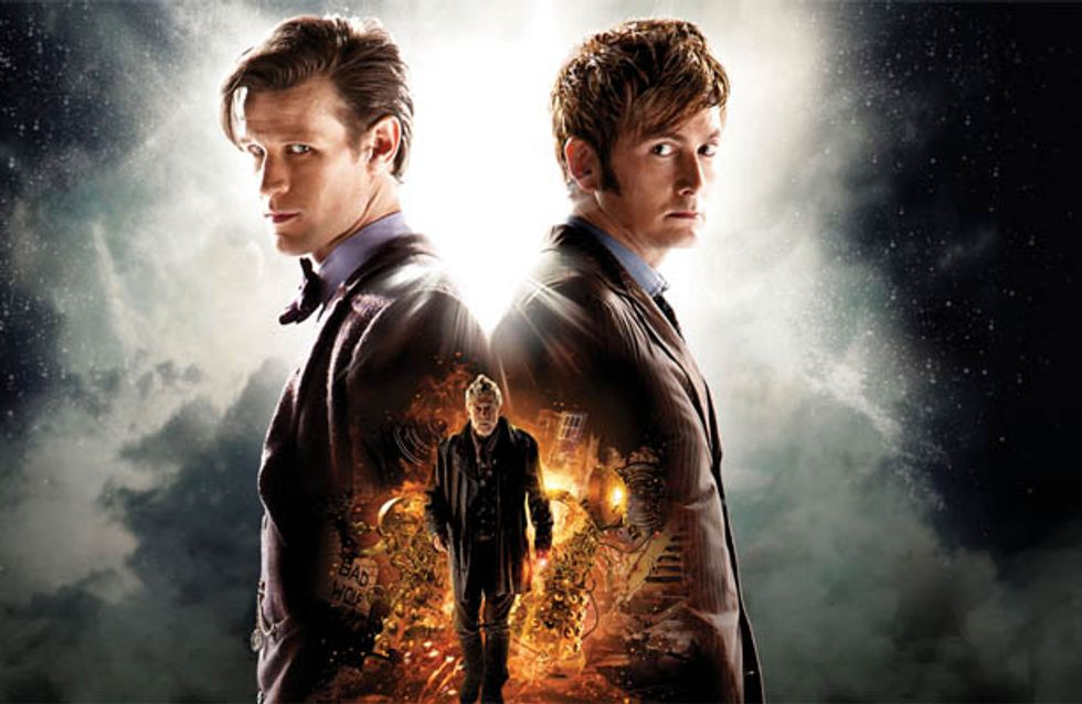 Doctor Who releases mini episode prequel for 50th Anniversary episode