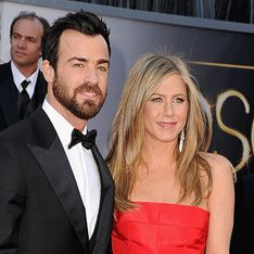 Justin Theroux gets cosy with 'mystery blonde' at a party without Jennifer Aniston
