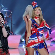 Taylor Swift shows off her body - and voice - at Victoria's Secret Fashion Show