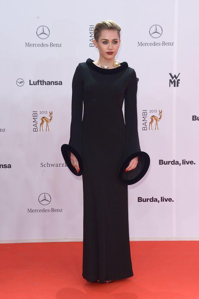 Miley Cyrus aux Bambi Awards 2013 à Berlin