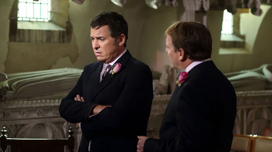 EastEnders 25/11 –Alfie and Roxy's wedding day