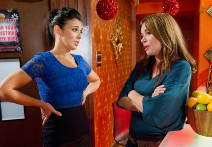 Carla confesses she is worried about the wedding