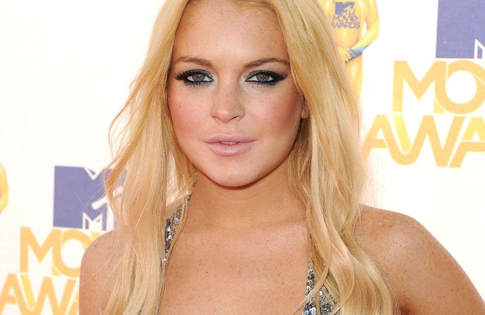 Lindsay Lohan : Topless sur Instagram (Photos)