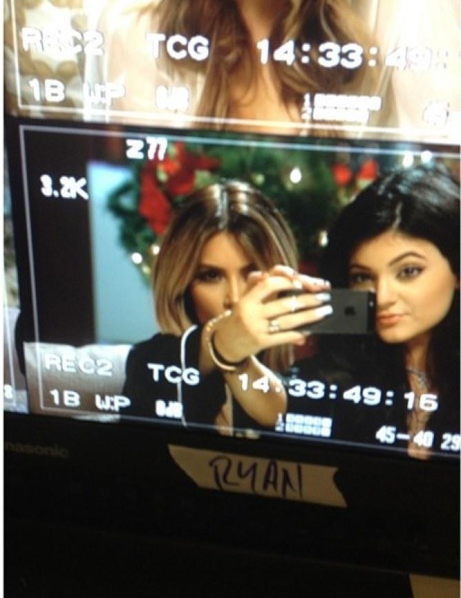 Kim Kardashian et sa soeur Kylie