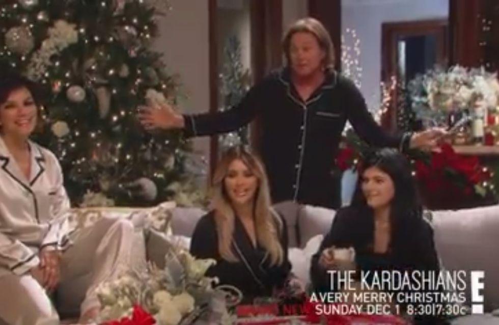 Kim Kardashian : Découvrez le Noël 2013 des Kardashian (vidéo)