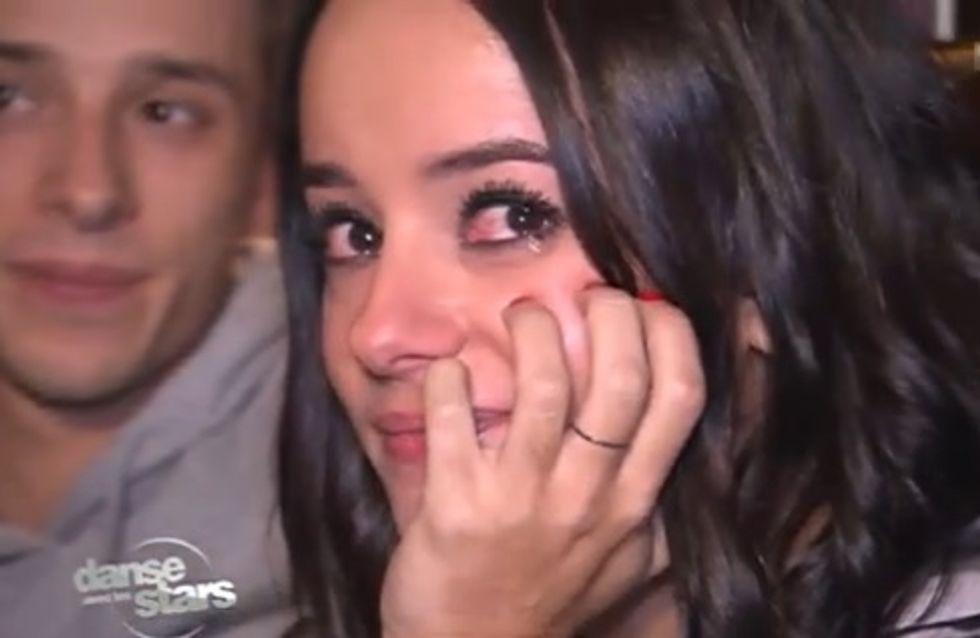 DALS 4 : Alizée craque et fond en larmes (Vidéo)