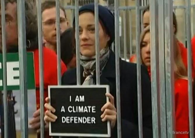 Marion Cotillard pour Greenpeace