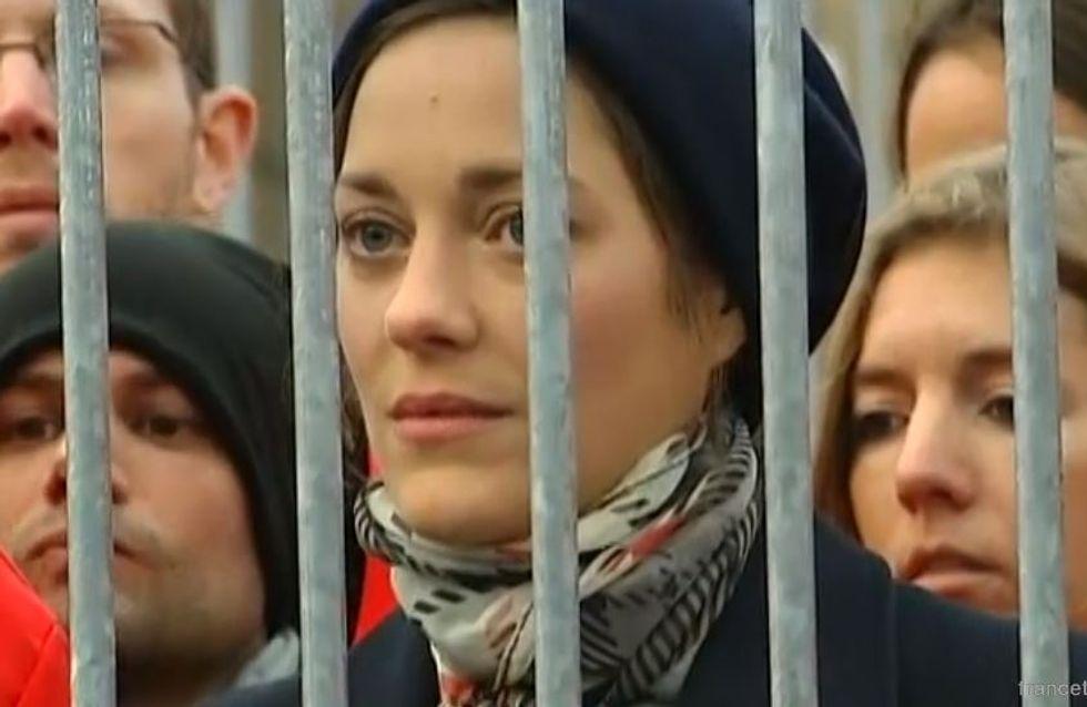 Marion Cotillard : Emprisonnée !