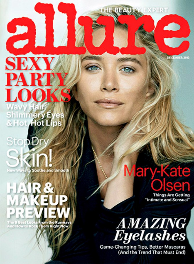 Mary-Kate Olsen pour Allure