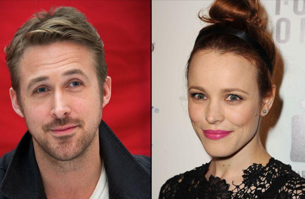 Ryan Gosling : Dans les bras de Rachel McAdams ?