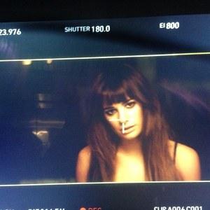 Lea Michele : Dans les coulisses de son premier clip
