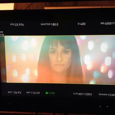 Lea Michele : Premières images exclusives de son clip (photos)