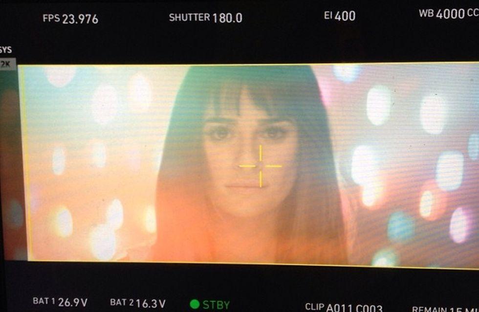 Lea Michele : Premières images exclusives de son clip (photos)