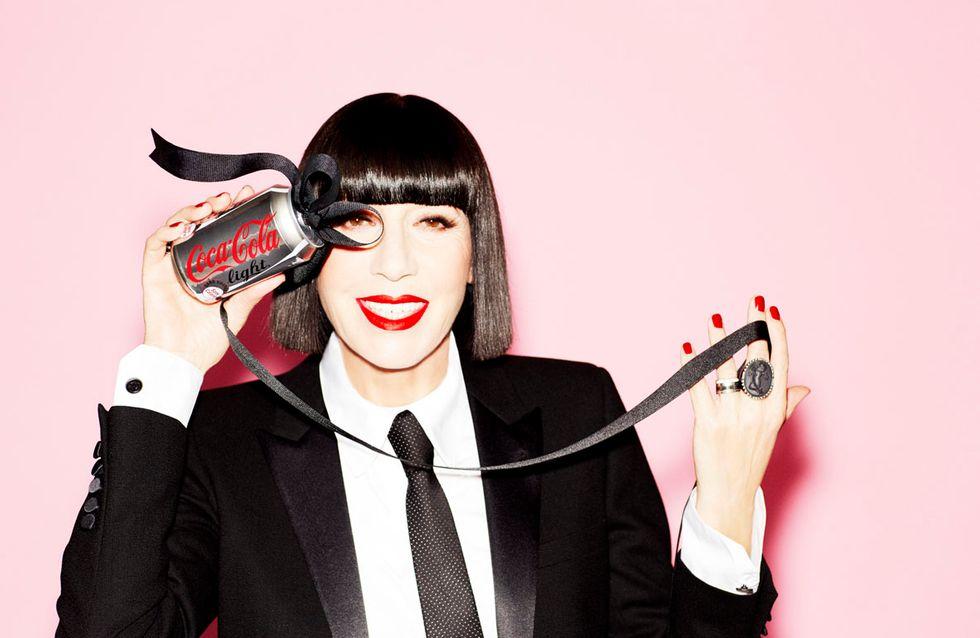 Exclu : Chantal Thomass est la nouvelle directrice artistique de Coca-Cola light
