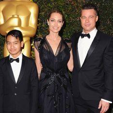Angelina Jolie : Entourée de Brad Pitt et de son fils Maddox pour recevoir un Oscar