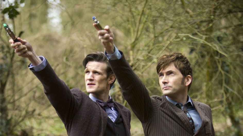 Exciting new images for BBC's Doctor Who 50th Anniversary