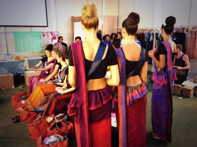 Soirée sri lankaise pour les Miss