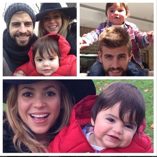 Shakira, Gerard & Milan glücklich vereint?