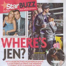 Aniston tradita da Theroux? La foto