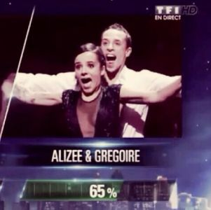 Alizée et Grégoire en finale de DALS