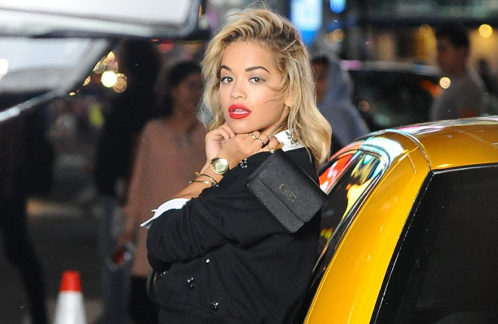 Fears for Rita Ora as she collapses on photo shoot