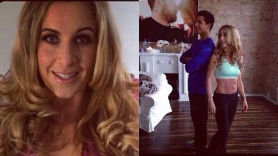 Charlotte Würdig: Sixpack 3 Monate nach der Geburt!