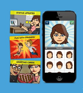 Bitstrips : L'appli qui cartoon