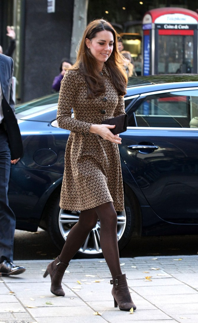 Kate im November 2013