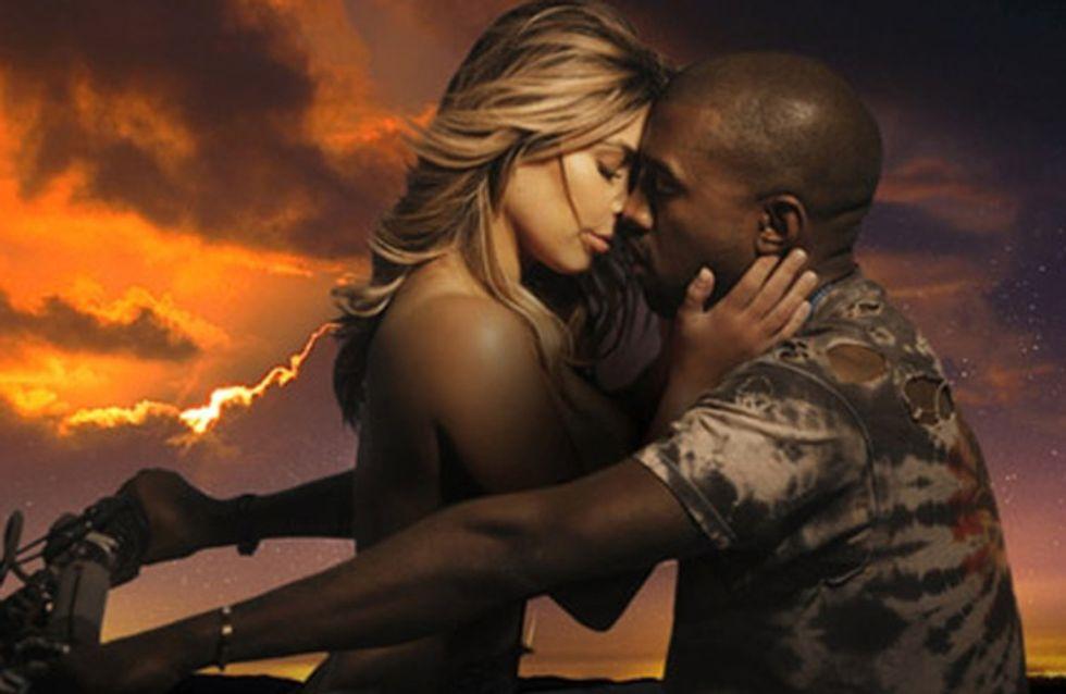 WATCH: Kim Kardashian in Kanye West's Bound 2 music video