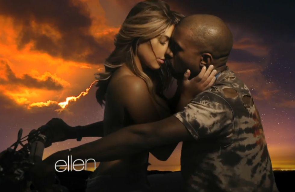 Kim Kardashian : Seins nus dans le nouveau clip de Kanye West (vidéo)