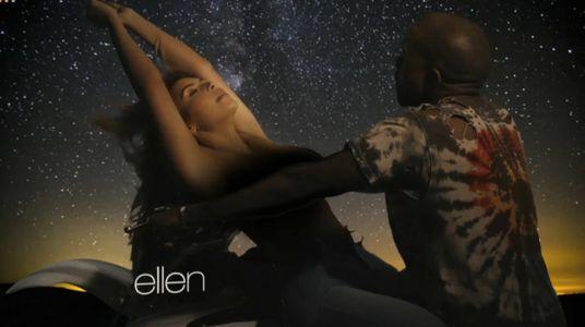 Kim Kardashian : Topless pour le nouveau clip de Kanye West