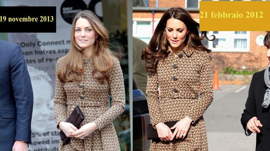 Kate: stesso abito di 2 anni fa