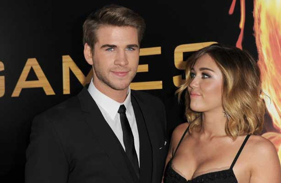 Liam Hemsworth throws shade at ex-girlfriend Miley Cyrus
