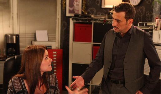 Carla stresses about the wedding