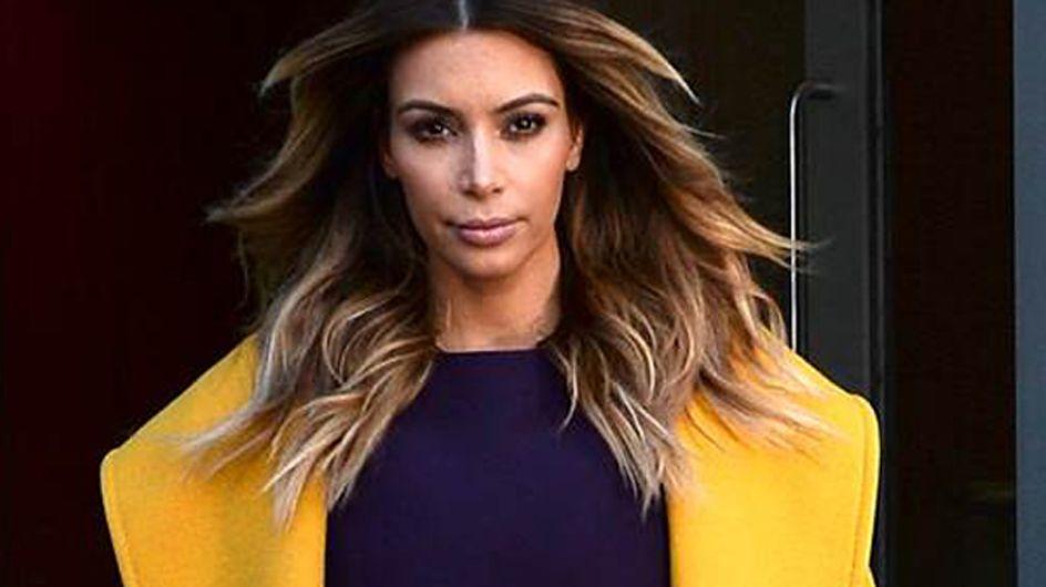 Kim Kardashian : Sexy et élégante en Max Mara