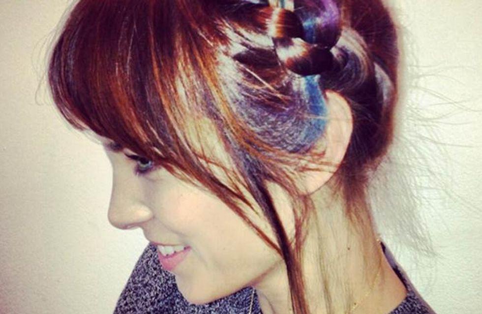 Alexa Chung opte pour le Hairchalk, le nouveau maquillage pour cheveux (Photo)