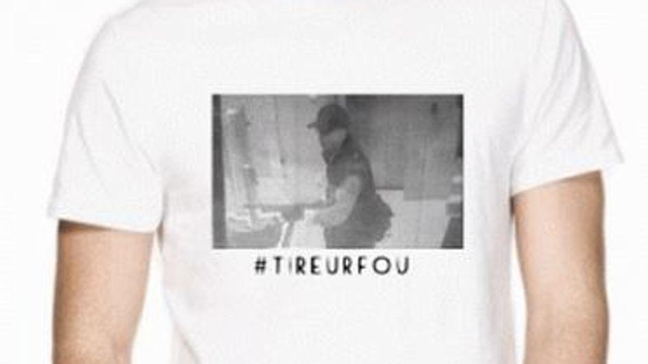Tireur fou : Un t-shirt à l'effigie d'Abdelhakim Dekhar