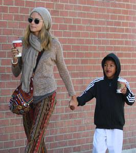Heidi Klum et son fils Henry